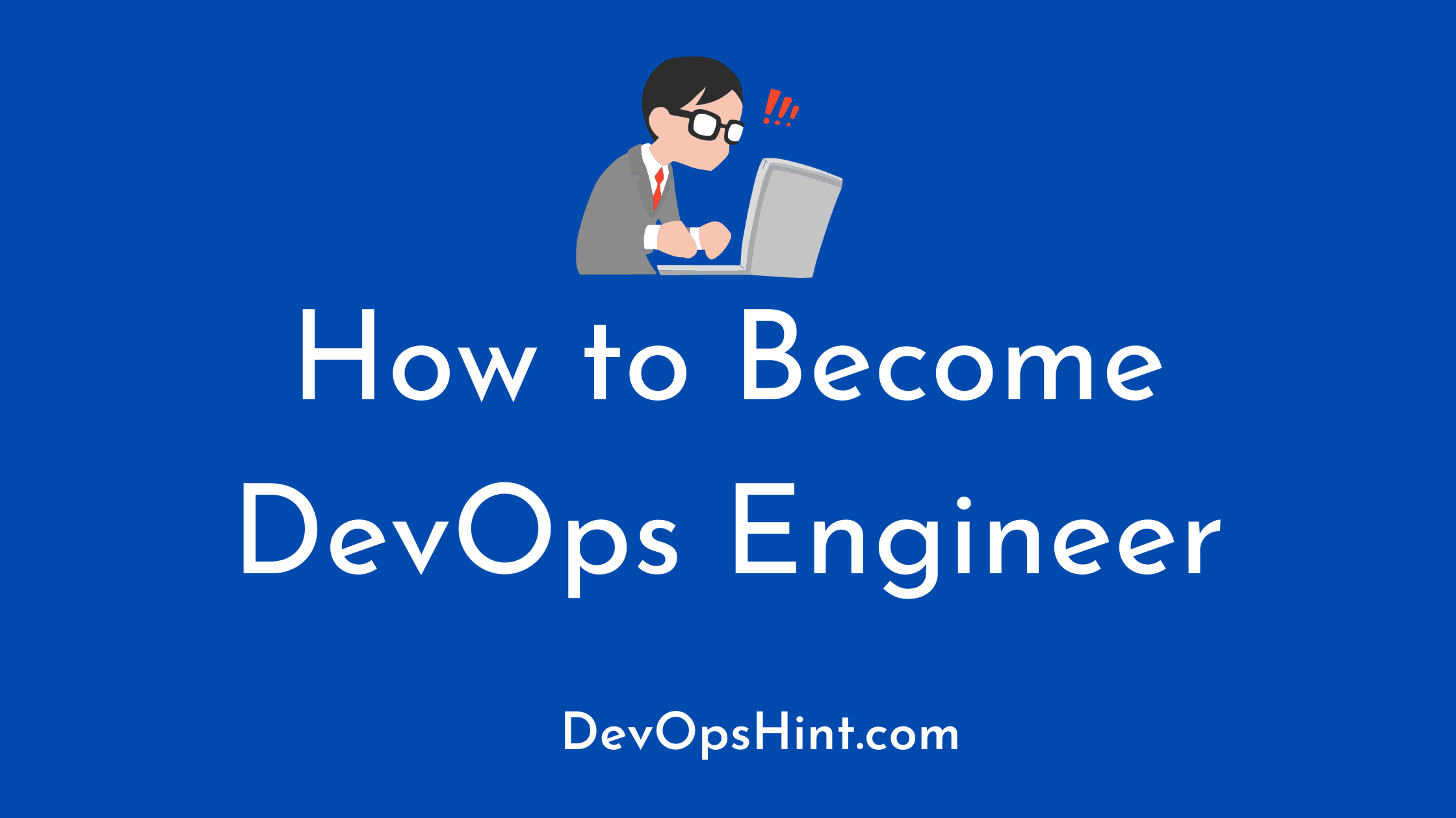 how to become devops engineer