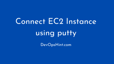 How to connect ec2 instance using putty