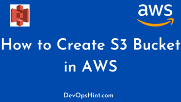 How to Create S3 Bucket in AWS
